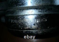 Vintage Powhantan B&i Works - Buse De Feu / Elkhart Brass Co. 2 Poignées Rouges Main