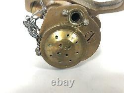 Vintage Rockwood Sprinkler Co. Fire Hose Buse Brass Cfr Capt.m. Powers M. H. T