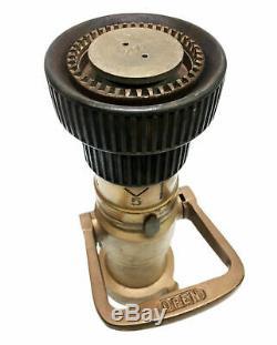Vintage Wooster Brass Co Vintage Feu Buse W / Ouvert Levier 200, Arreter