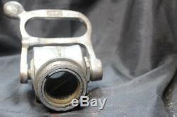 Vtg Shut Off Valve Pour Tuyau D'incendie Buse Akron Brass 1964 Seagrave Firetruck